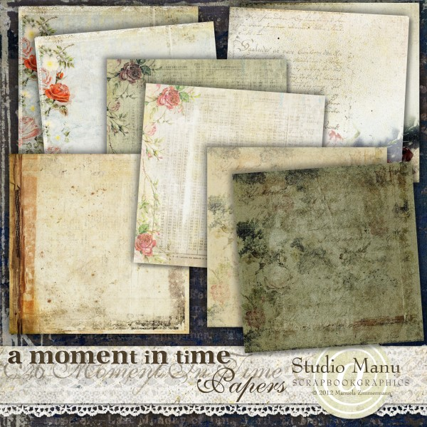 A Moment In Time - Papers