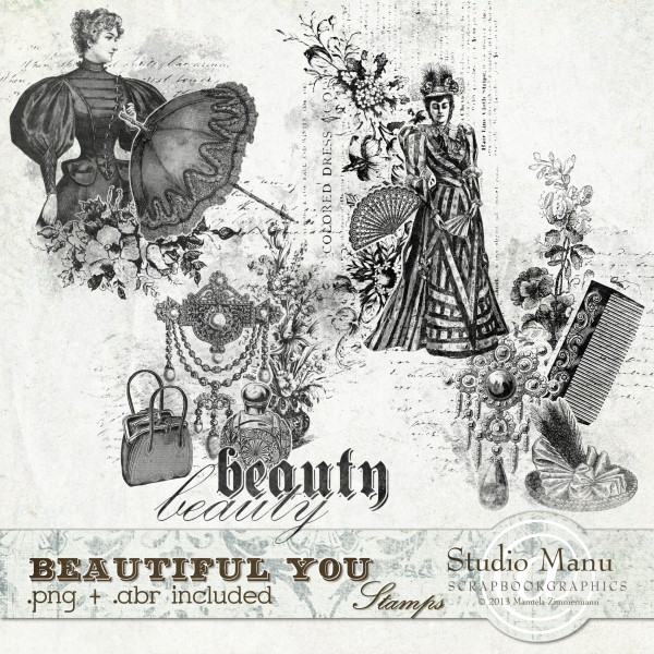 Beautiful You - Stamps