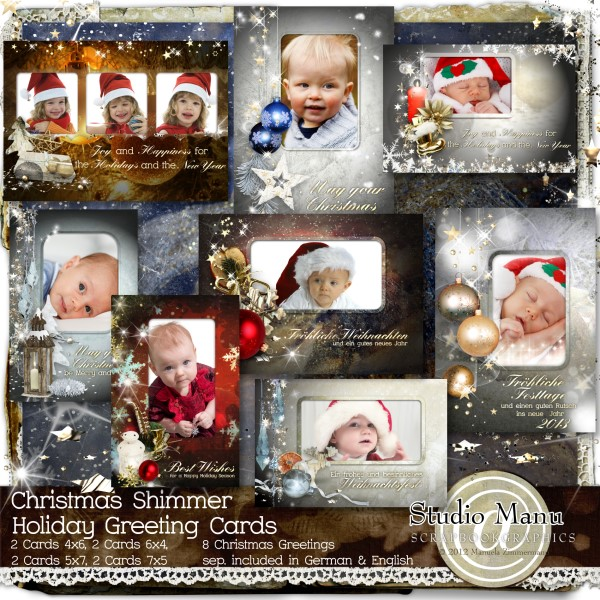 Scrapbook Holiday Cards