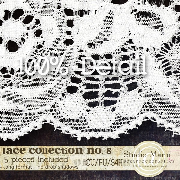 Lace Collection 100% Detail