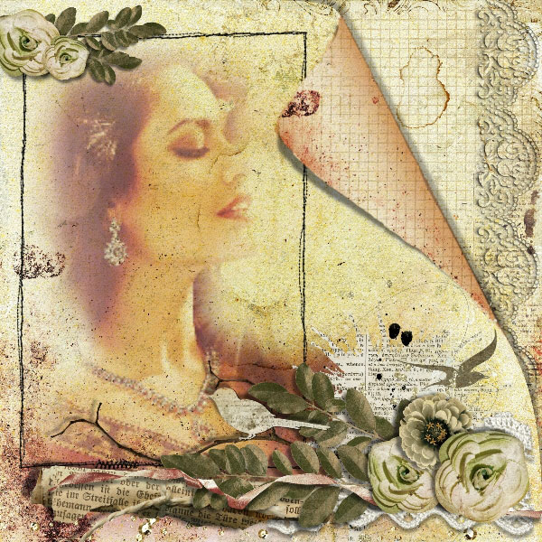 digital scrapbooking inspiration