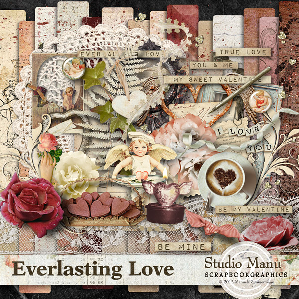 Everlasting Love - Page Kit