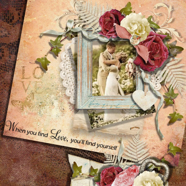 Everlasting Love Inspiration Page by Tracey