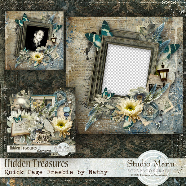 Hidden Treasures Quick Page Freebie