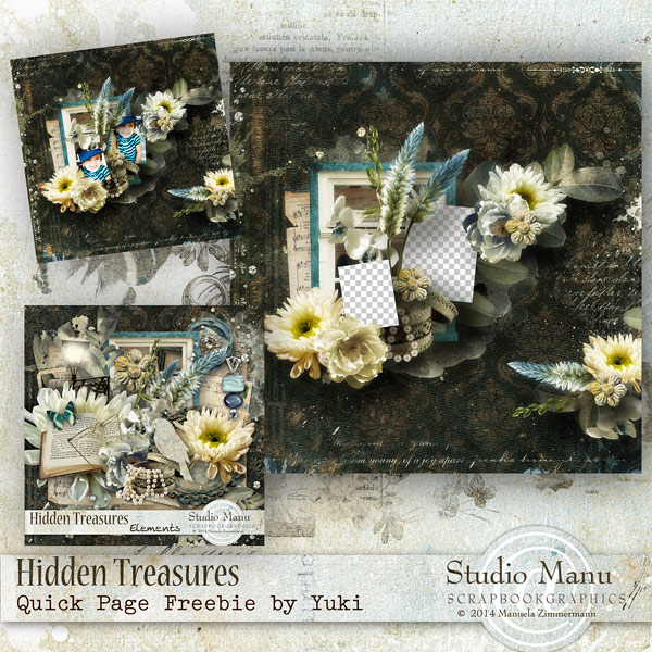 Hidden Treasures Free Quick Page