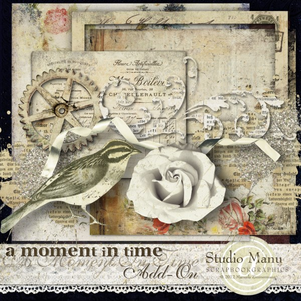 Newsletter Freebie - A Moment In Time