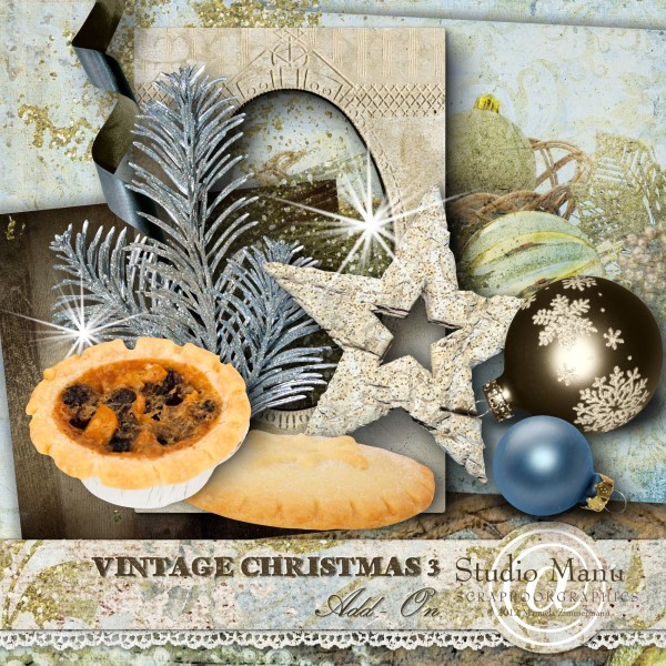 Newsletter Freebie - Vintage Christmas 3