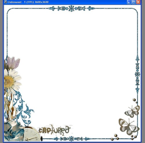 2. Then Choose A Background Paper Of Your Choice And Put It Behind The Page  Border