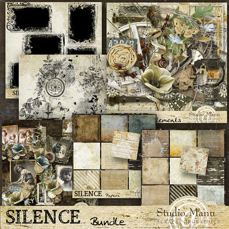 digital scrapbooking collection