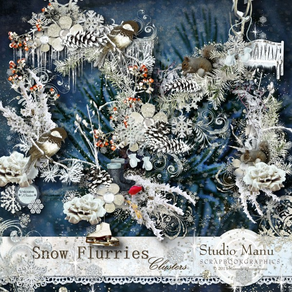 Snow Flurries - Clusters