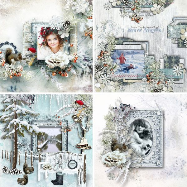Inspiration Pages Snow Flurries