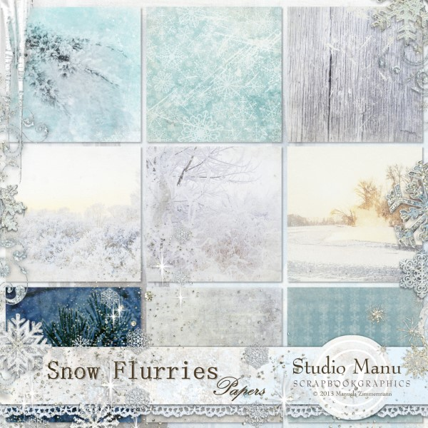 Snow Flurries - Papers