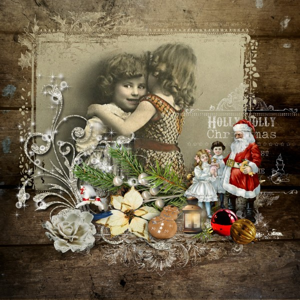 Vintage Christmas 3 - Photo Masks Inspiration Page