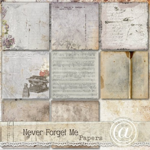 Never Forget Me - Background papers