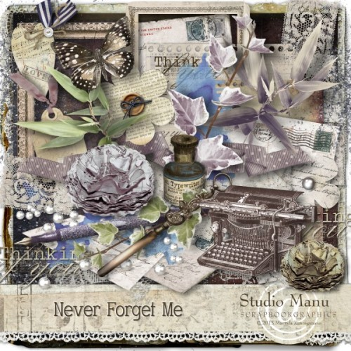 Never Forget Me - Page Kit