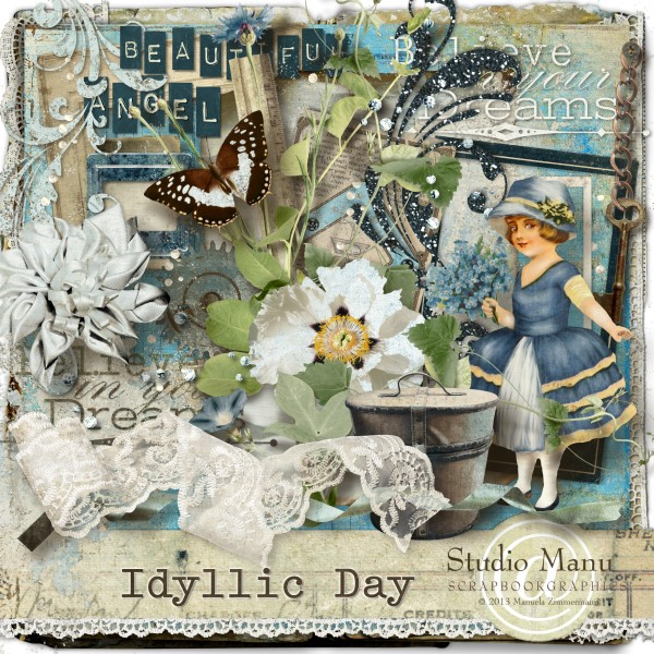 Idyllic Day - Scrapbook Kit