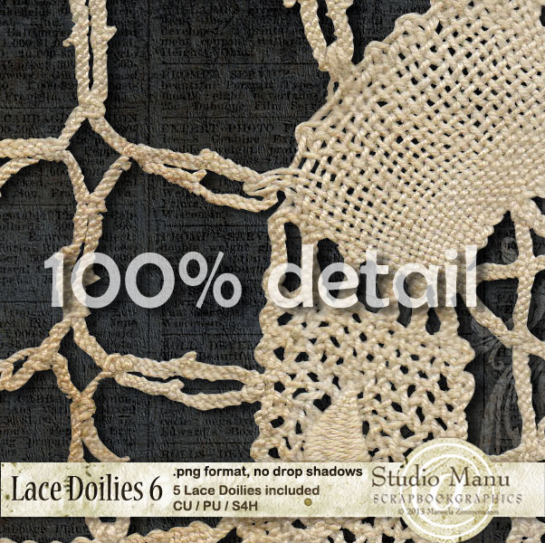 Lace Doilies Detail