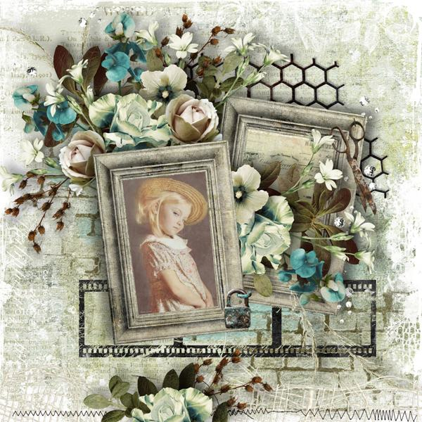 Inspiration layout by Tracey