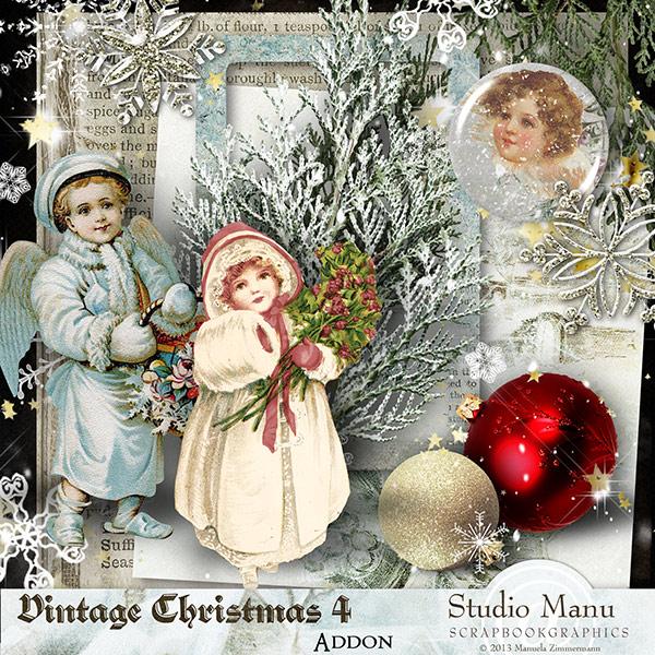 Mini Kit Freebie Vintage Christmas
