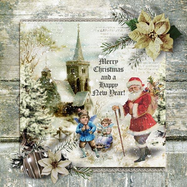 Inspiration Page Vintage Christmas