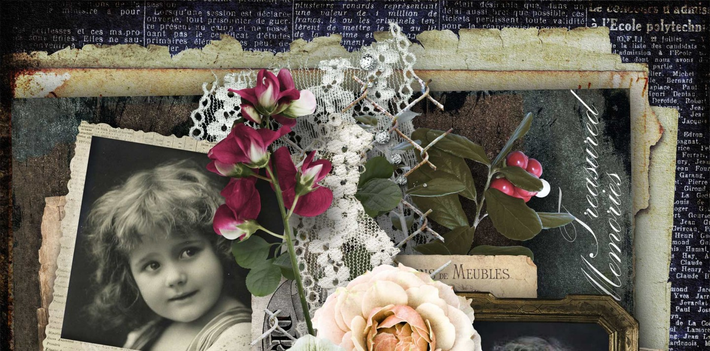 Beautiful Past Scrapbook Collection