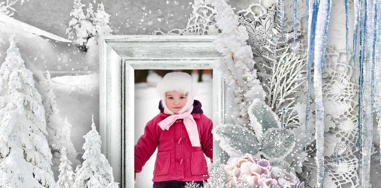 Flurrious Fun Winter Scrapbook Collection