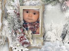 Digital Scrapbooking Inspiration Layout Christmas Winter