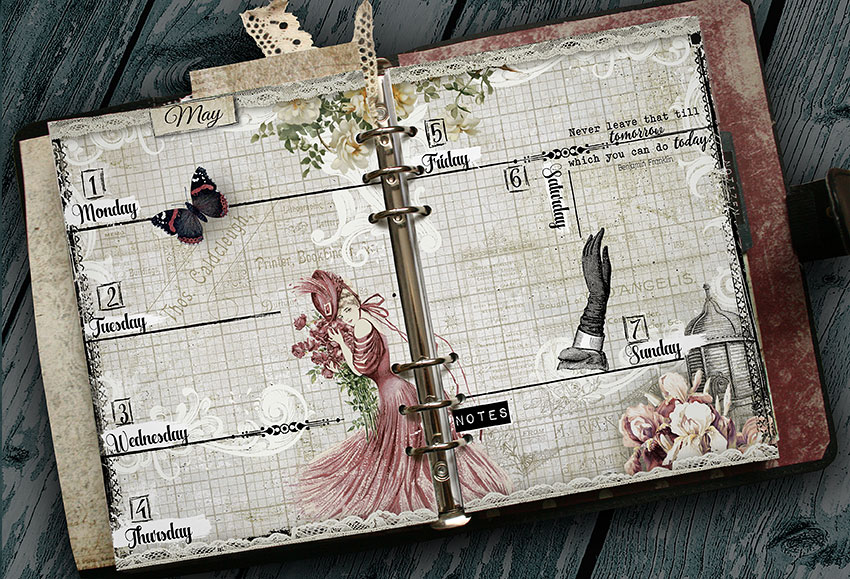 weekly printable planner pages