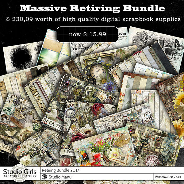 Scrapbooking Close Out Sale Massive Retiring Bundle