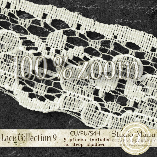 digital scrapbooking commercial use lace collection 100% zoom