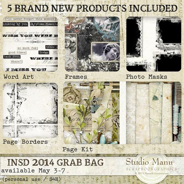 PU Grab Bag Studio Manu iNSD
