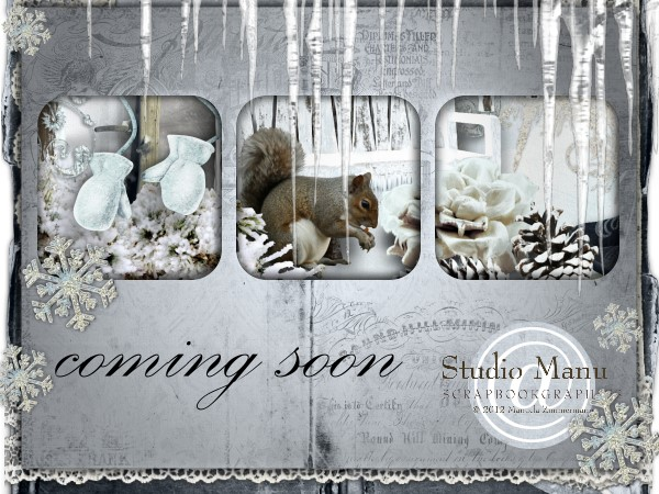 Sneak Peek - coming soon to Studio Manu
