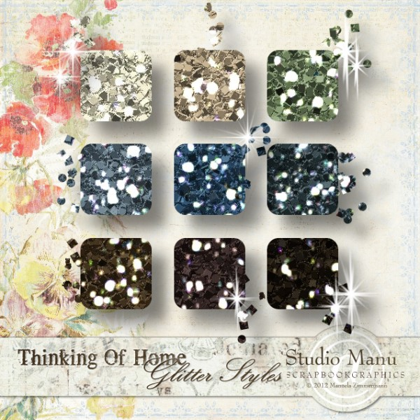 Thinking Of Home - Glitter Styles