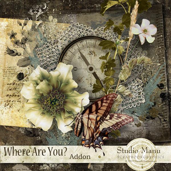 Studio Manu Newsletter Freebie - Mini Kit Where Are You?