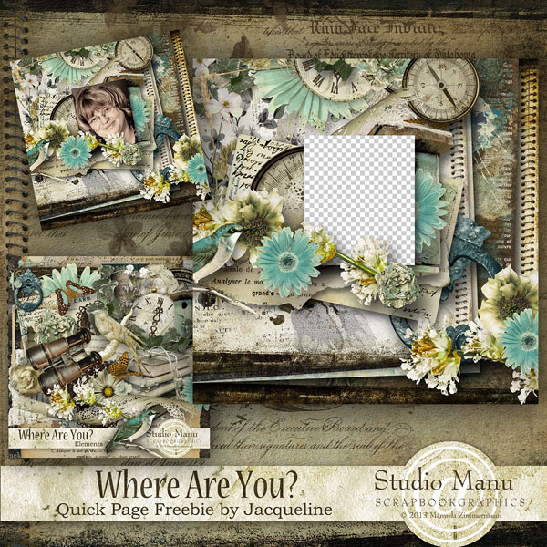 Freebie Quickpage by Jacqueline