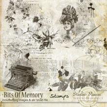 Bits Of Memory - Stamps