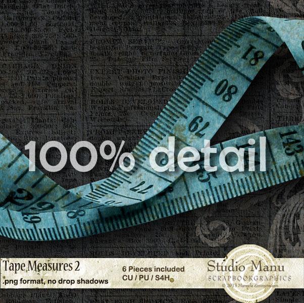 Tape Measure Detail View