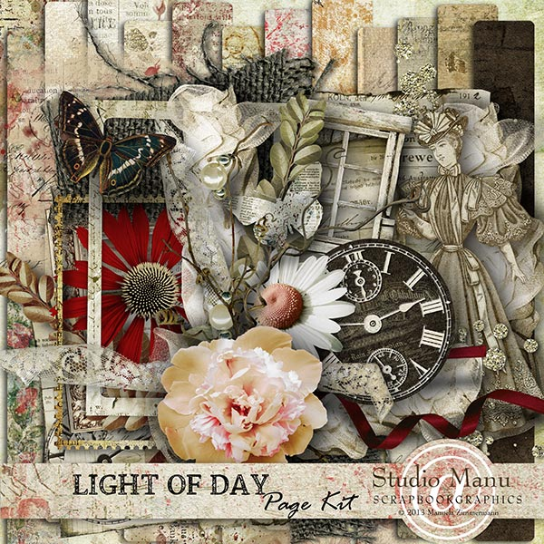 Light Of Day - Page Kit