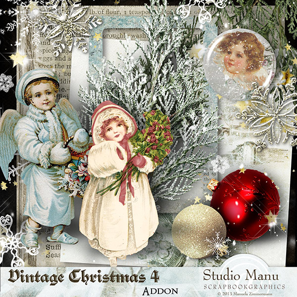 Mini Kit Freebie Vintage Christmas