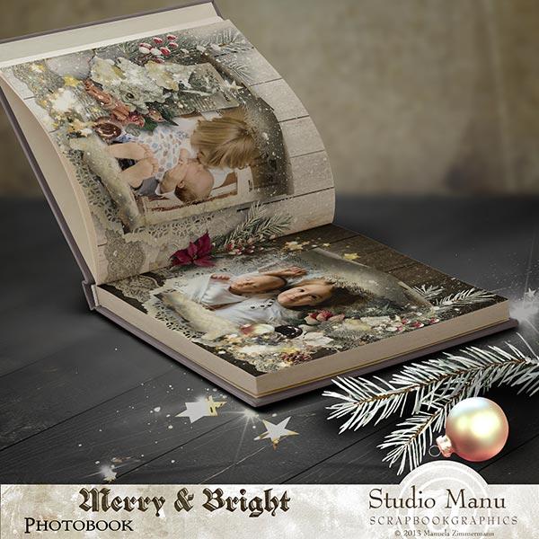 christmas photo book scrapbook