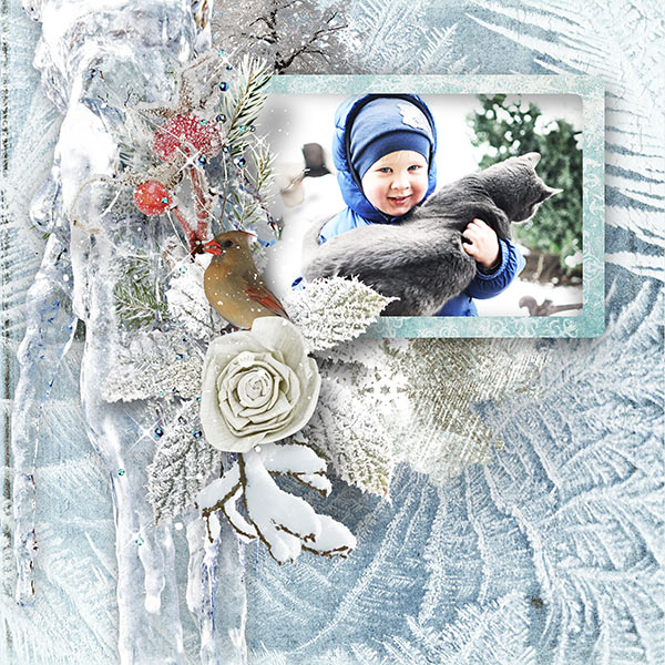 Inspiration Layout Clusters Snow and Fun