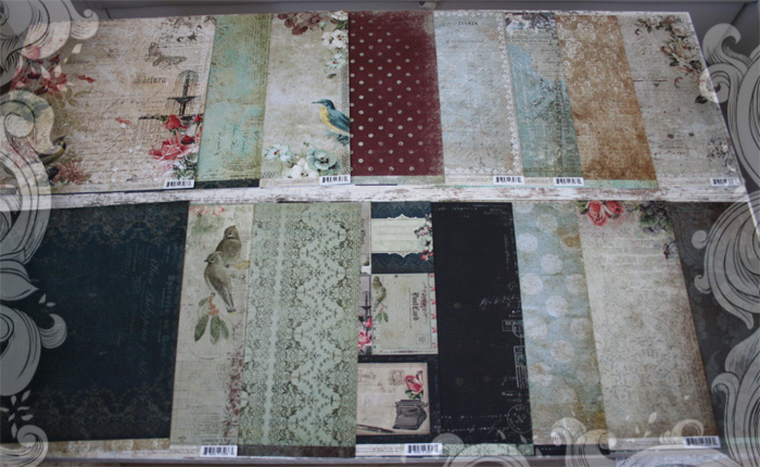 Sanctuary Scrapbooking Papers