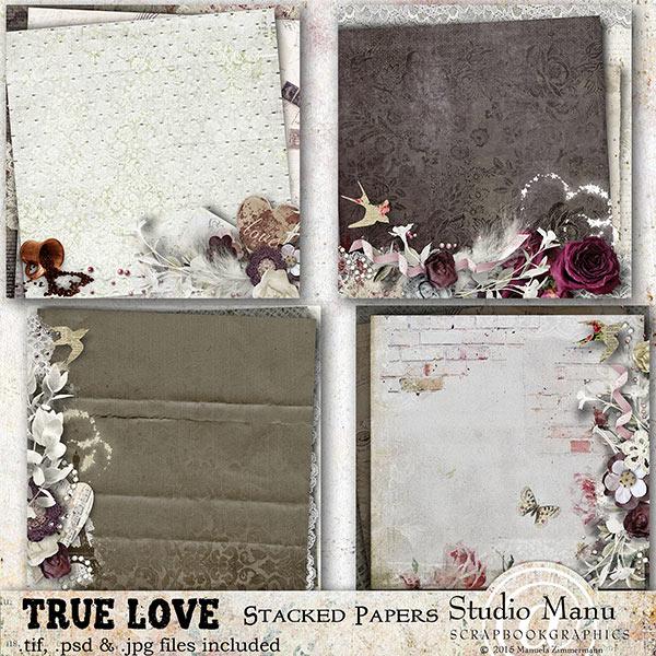 True Love Valentine's Day Scrapbooking Collection