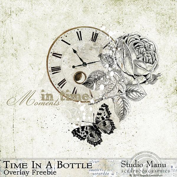 Time In A bottle - Freebie Overlay