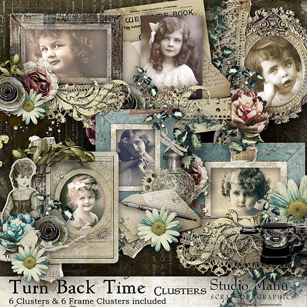 Turn Back The Time - Clusters
