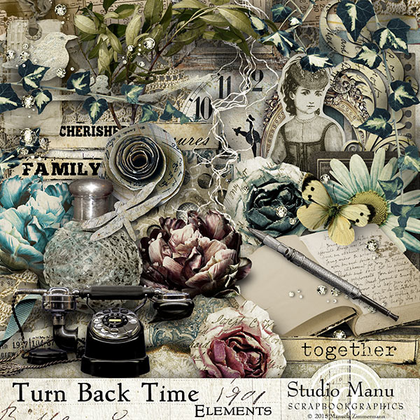 Turn Back The Time - elements