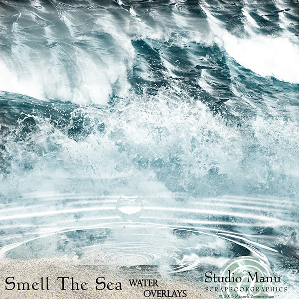 Smell The Sea - Water Overlays