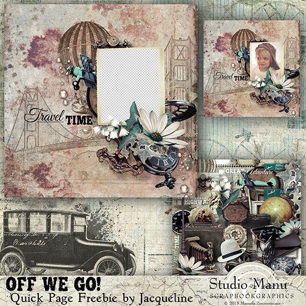 Quick Page Trave Freebie by jacqueline