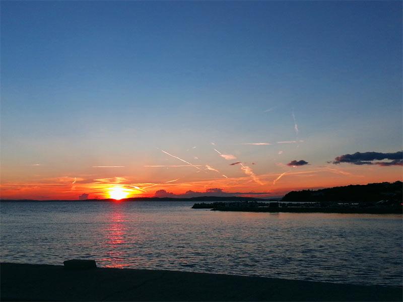sunset croatia Rtina Miocici