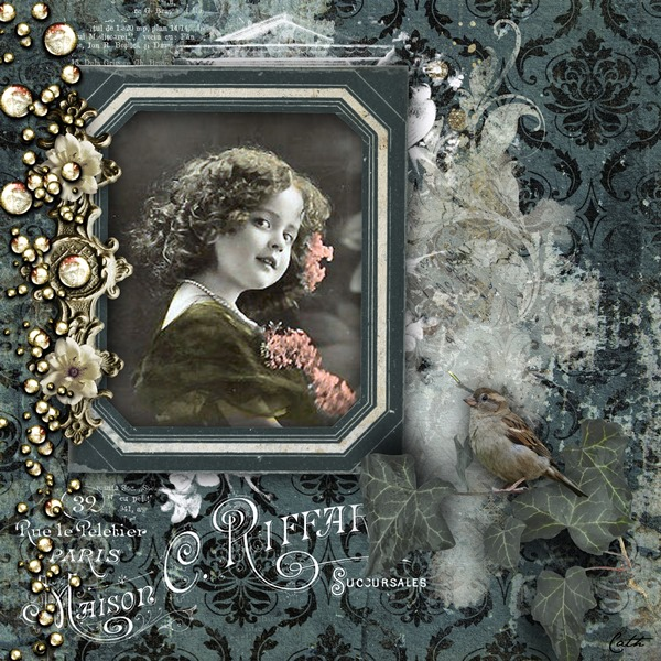 Vintage Inspiration layout by Cath